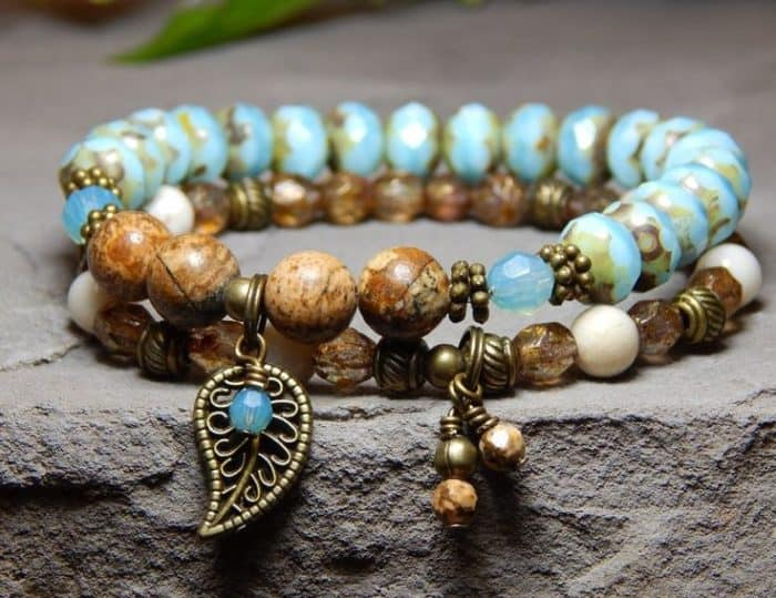 25 Cool Beaded Bracelets Designs Ideas Sheideas