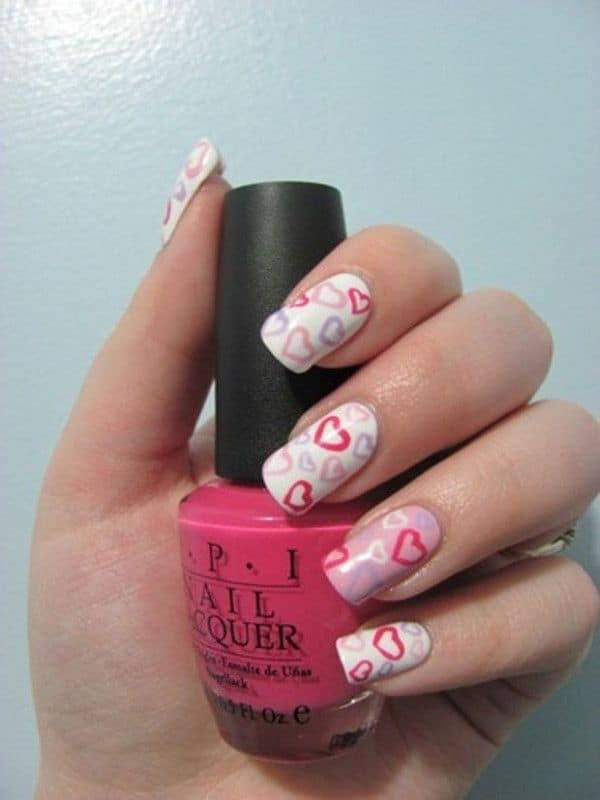 Great Pretty Nail Designs for Valentines Day