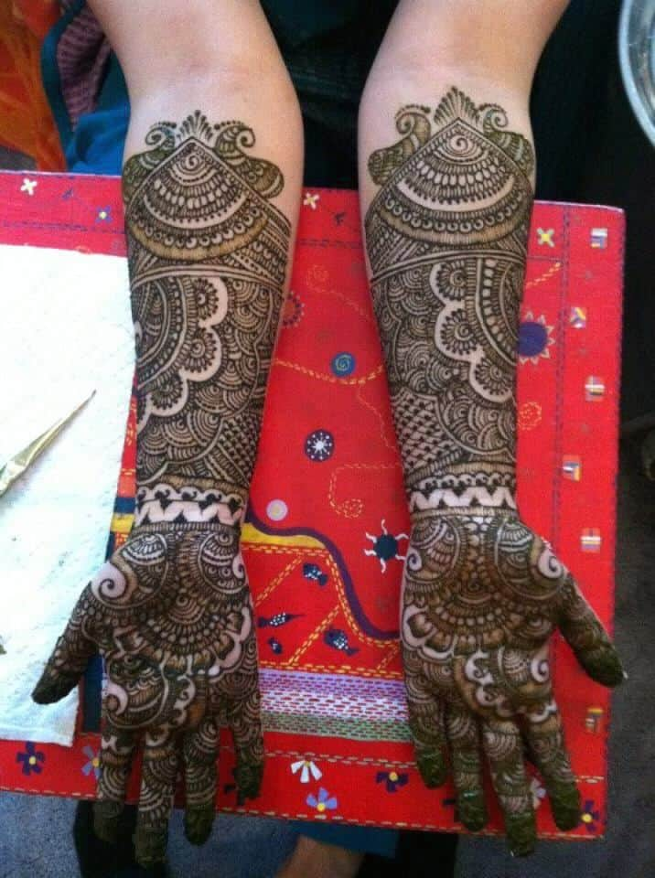 Simple Easy Modern Mehndi Design 2018 Full Hand