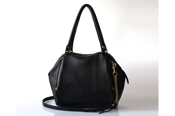 Handcrafted Designer Black Leather Handbags