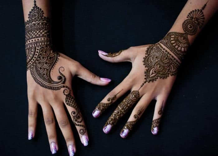 Wedding Henna Designs