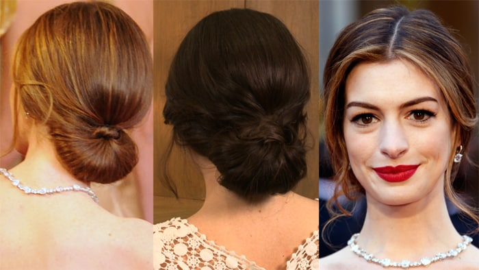 Hollywood Prom Favourable Bun Hairstyles 2016