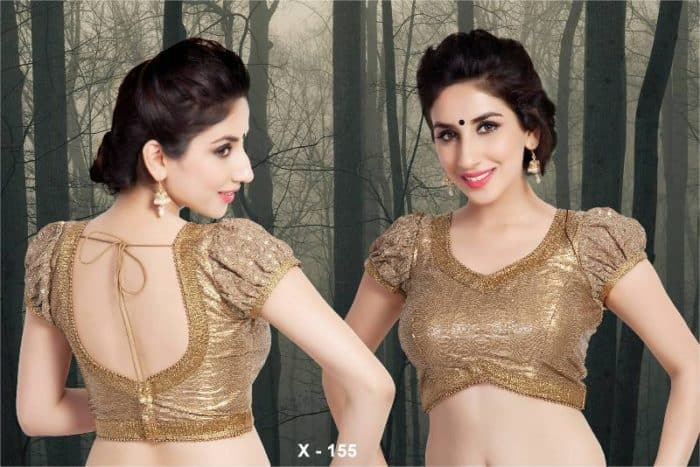 Indian Saree Blouse Patterns Photos for Women