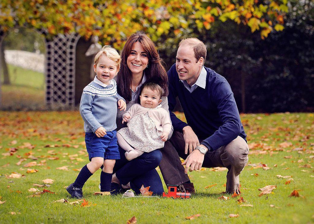 Kate Middleton Prince William Family Portraits