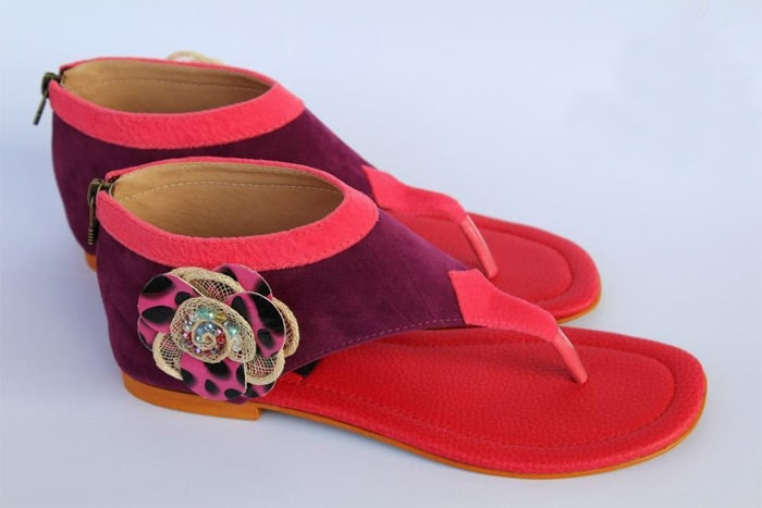Latest Christmas Patch Foot Wear for Girls