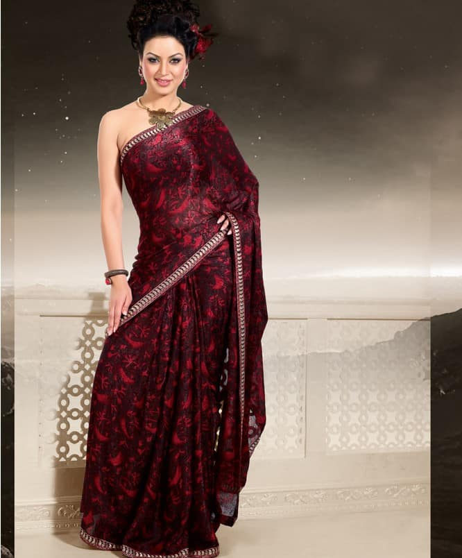 Latest Indian Sarees Designs for Wedding 2016