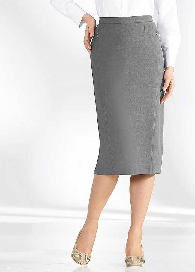 Latest Knee Length Pencil Skirts Dresses 2016