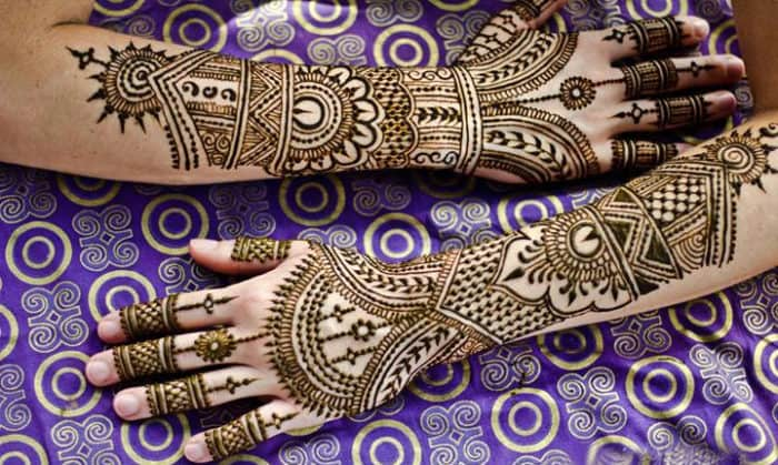 Latest Marriage Mehndi Designs for Full Hands