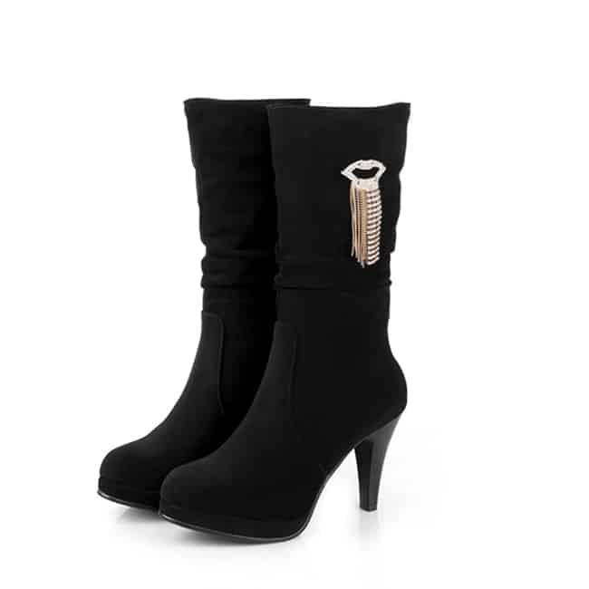 Latest Mid Calf Boots for Women 2016