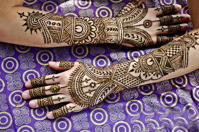 Latest Wedding Henna Designs for Hands