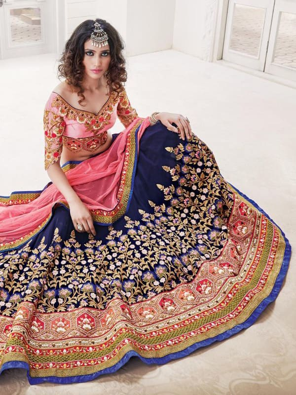 Latest Wedding Lehenga Choli Designs 2016