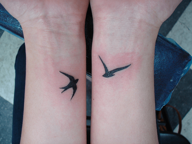Little Birds Small Tattoos Designs 2016