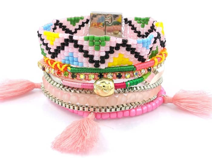 Mexican Beaded Bracelets Designs Ideas 2016
