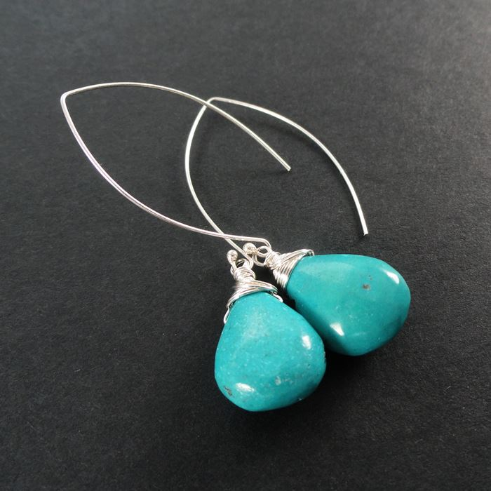 Modern Turquoise Earrings Trends 2016