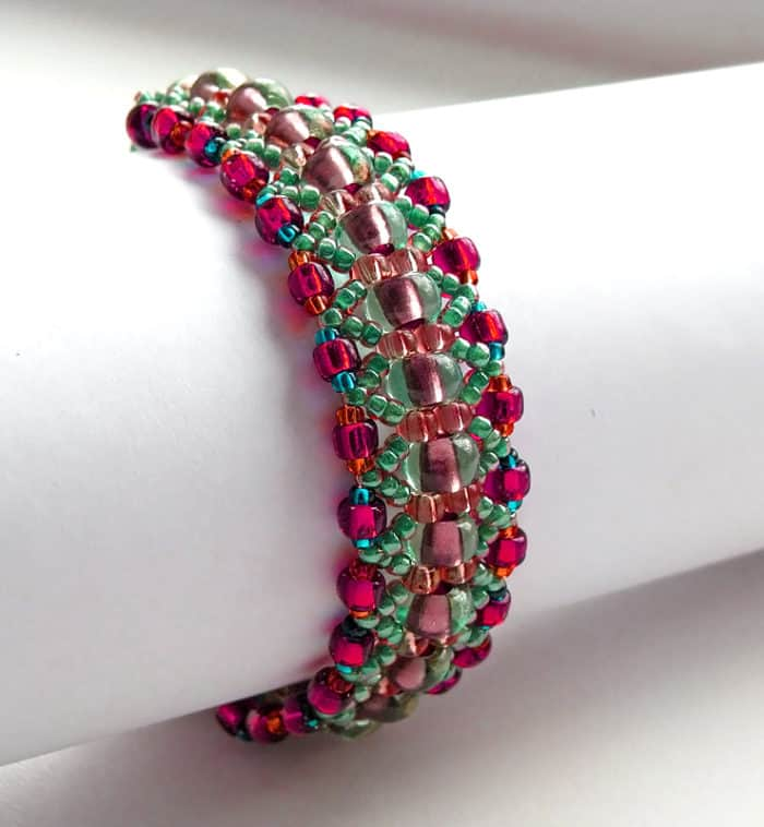 multi color beaded bracelets patterns 2016 - Beaded Bracelet Design Ideas