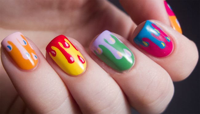 Multi Color Nail Design Ideas for Inspiration