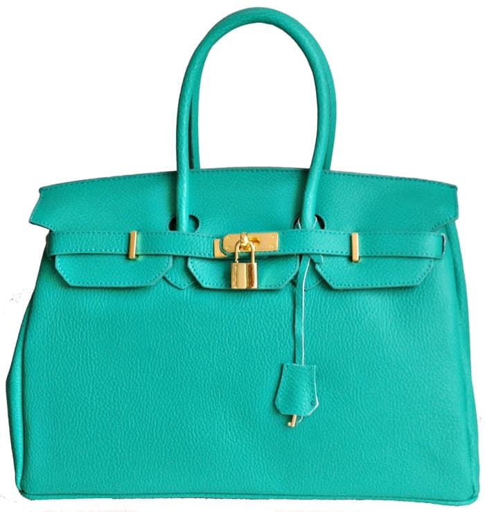 New Birkin Designer Italian Leather Handbags