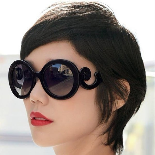 New Black Sunglasses for Female 2016