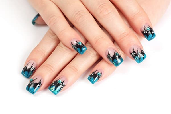 Simple Gel Nail Designs For Short Nails