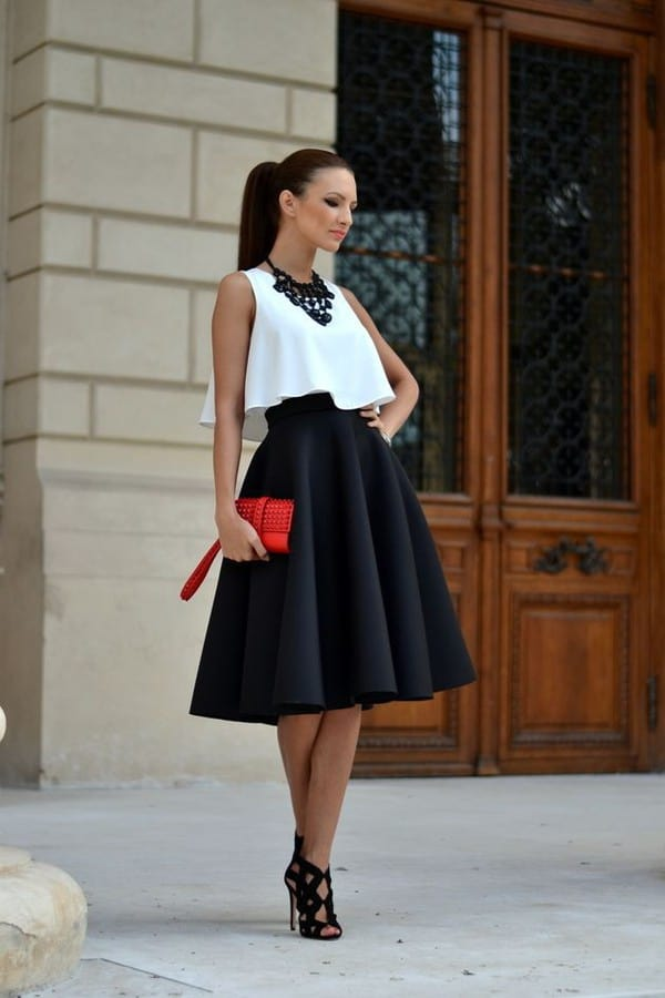 Beautiful 20 Style Tips On How To Wear A Pleated Skirt Outfit Ideas  Gurlcom