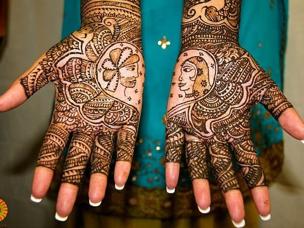 New Wedding Henna Designs for Brides 2016