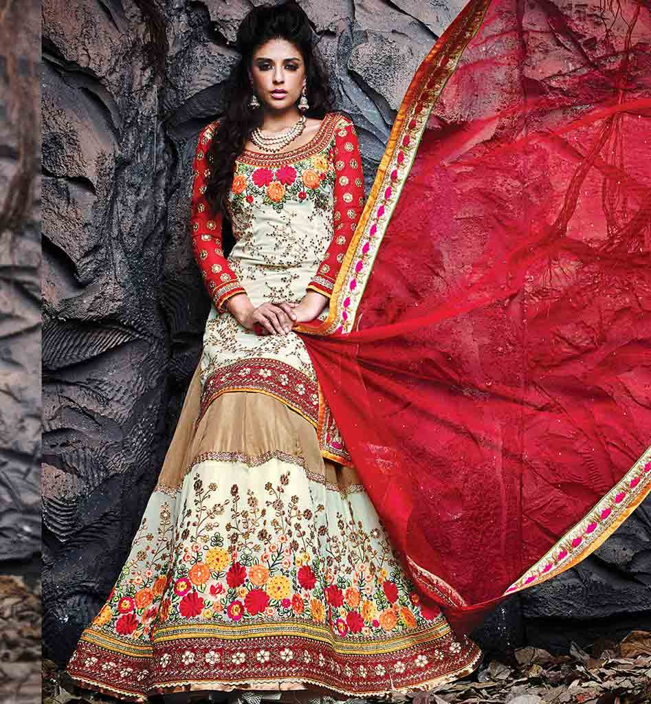 Nice Wedding Lehenga Choli for Bride 2016
