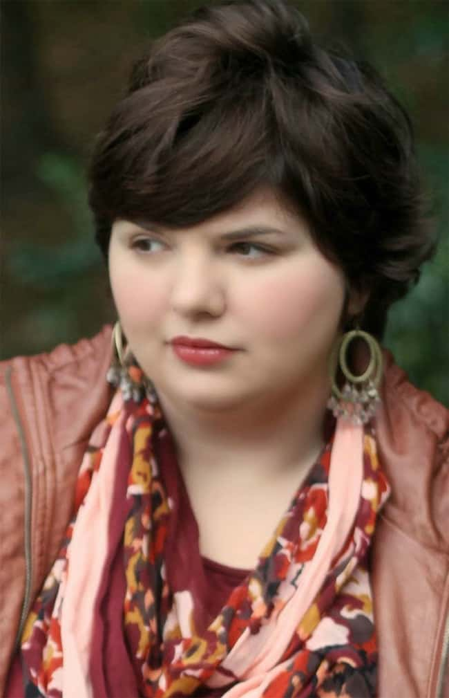 Plus Size Women Pixie Haircuts for Valentines Day