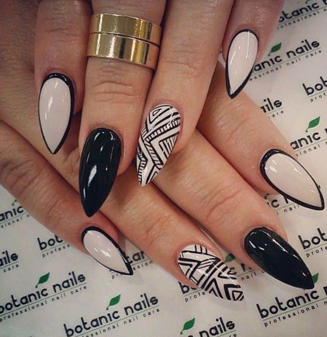Pretty Almond Nail Designs for Girls 2016