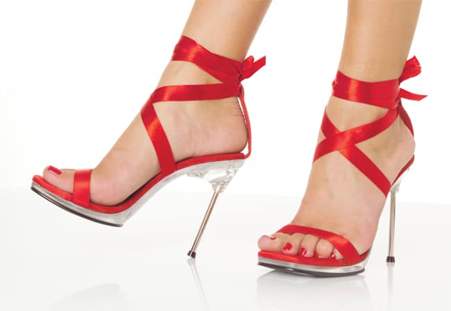 Red High Heels Sandals Ideas 2016