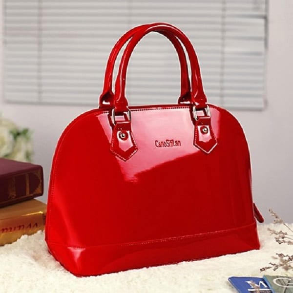 Red Leather Designer Handbags 2016 for Valentines Day