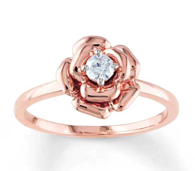 Rose Gold Engagement Ring Designs 2016