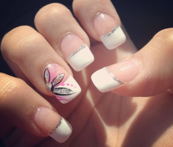 Simple Nail Design Ideas girlshue 15 simple winter nail art designs ideas trends Simple French Nail Designs Ideas 2016