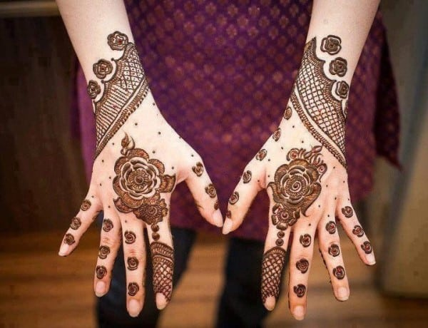Simple Mehndi Design Ideas for Inspiration
