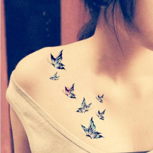 Small Butterfly Tattoo Meaning Designs