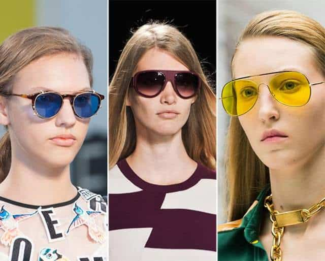 Spring Eyewear Trends of Bright Eye Sunglasses
