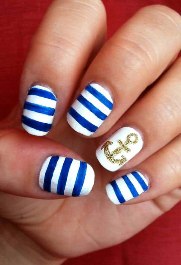 30 Trendy Nail Art Designs for Beginners 2018 - SheIdeas