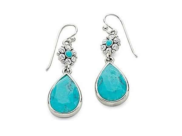 Sterling Silver Turquoise Earring Designs 2016