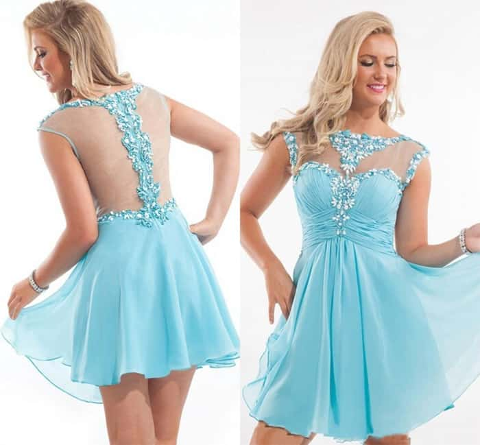 Stylish Cheap Short Homecoming Dresses 2016
