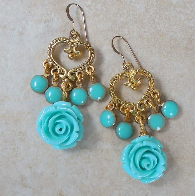 Cool Turquoise Earrings for Babies 2016