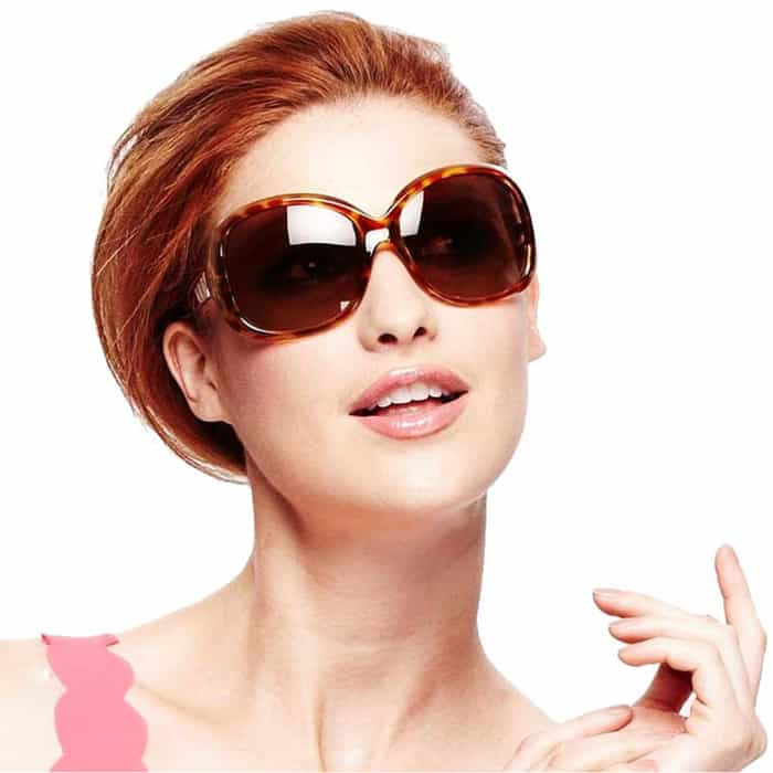 Super Oval Faces Sunglasses for Female 2016