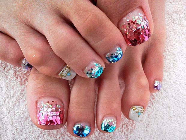 Spring Toe Nail Designs : Cute summer toe nail designs sheideas