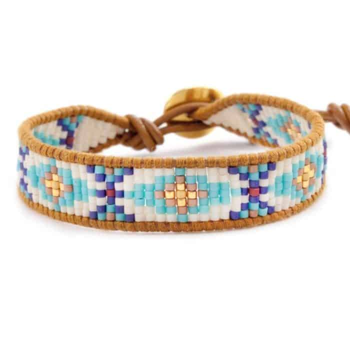 25 Cool Beaded Bracelets Designs Ideas - SheIdeas