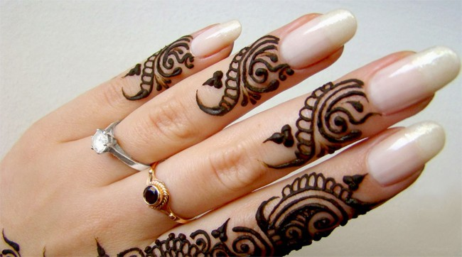 Wedding Fingers Mehndi Designs Pictures 2016