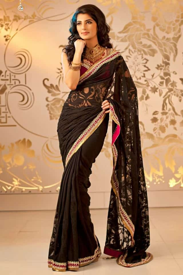 Wedding Formal Casual Party Wear Saree Ideas 2016
