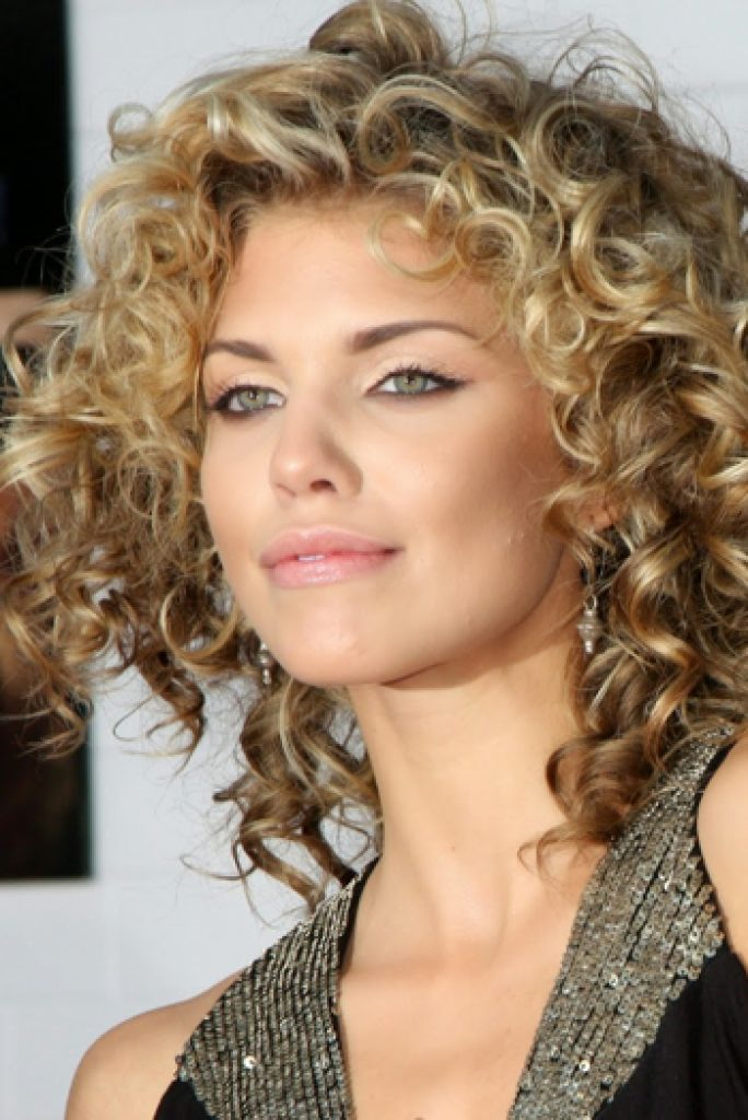 Women Short Curly Haircut Trend 2016