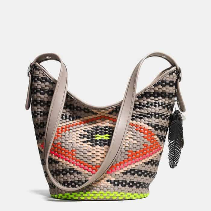 Woven Leather Designer Handbag for Girls 2016