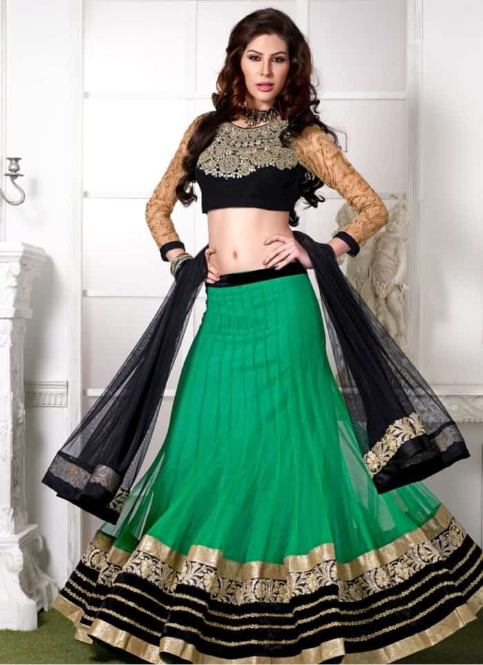 wedding design of lehenga choli
