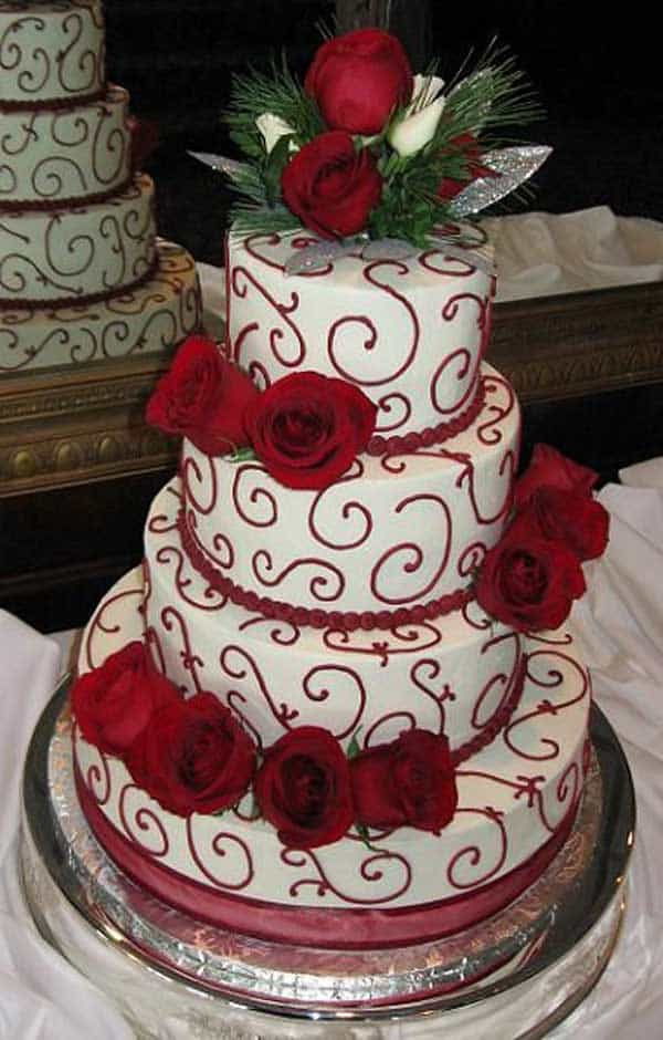 Top 33 Fantastic Henna Wedding Cake Designs Sheideas