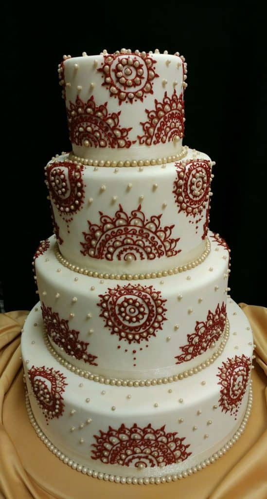 wedding cakes designs and prices top 33 fantastic henna wedding cake designs sheideas 24188