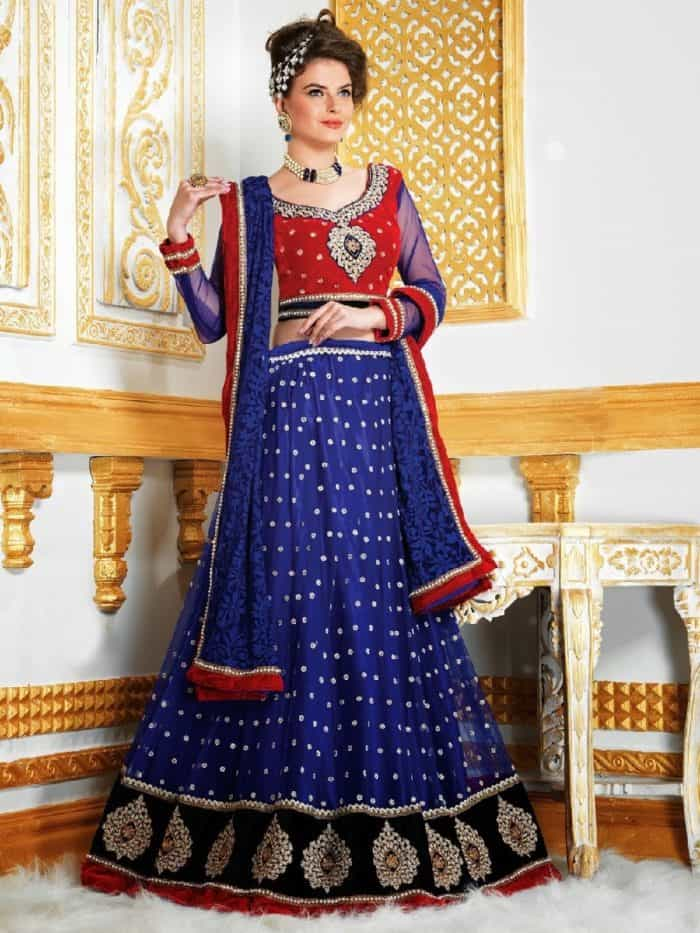 wedding lehenga choli designs 2018